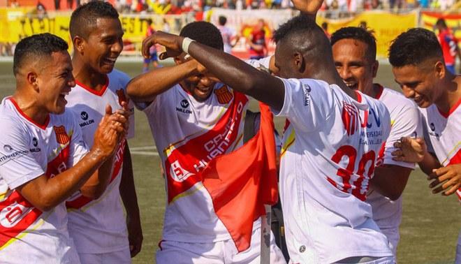 Atlético Grau goleó a Los Caimanes por la fecha 30 de Segunda División