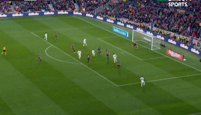 Barcelona vs Real Madrid: Luka Modric casi anota, pero el palo le quitó el grito de gol [VIDEO]