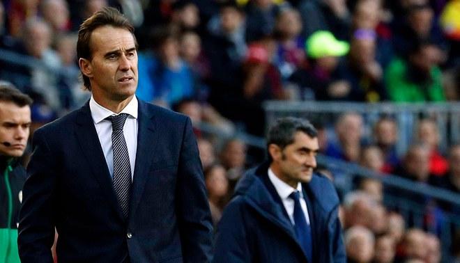 Julen Lopetegui y sus declaraciones tras la humillante goleada del Real Madrid