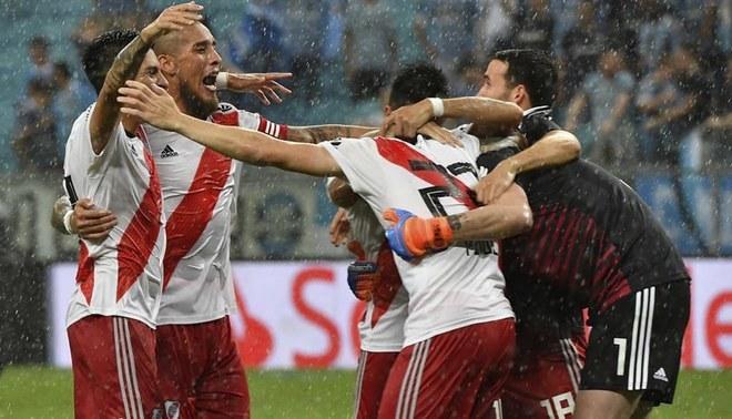 River Plate venció 2-1 a Gremio en Brasil y llega a la final de Copa  Libertadores.  e7a6026a74e1c