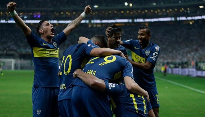 6dc7a3cae7 Boca Juniors empató 2-2 con Palmeiras y pasó a la final de Copa Libertadores  Creditos   Twitter