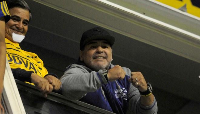 """Maradona: """"Se lo pido a Dios y a mi Mamá que Boca clasifique a una final de Copa con River"""" [VIDEO]"""