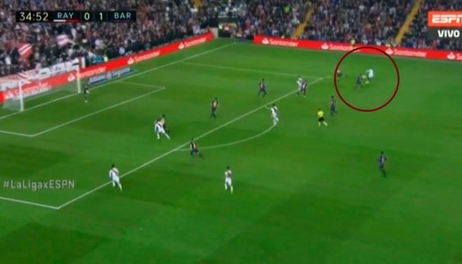 Barcelona vs Rayo Vallecano: José Ángel Pozo pone el 1-1 tras jugada de Luis Advíncula [VIDEO]