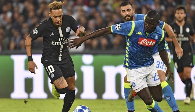 PSG no convence en la Champions League e igualó 1-1 con el Napoli.  29539b773091e