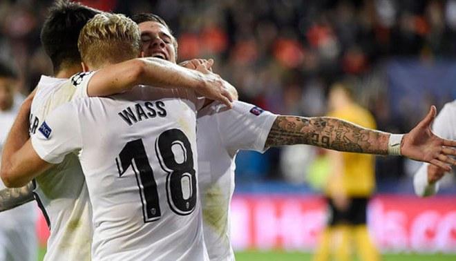 Valencia venció a Young Boys por 3-1 en la cuarta fecha de la Champions League