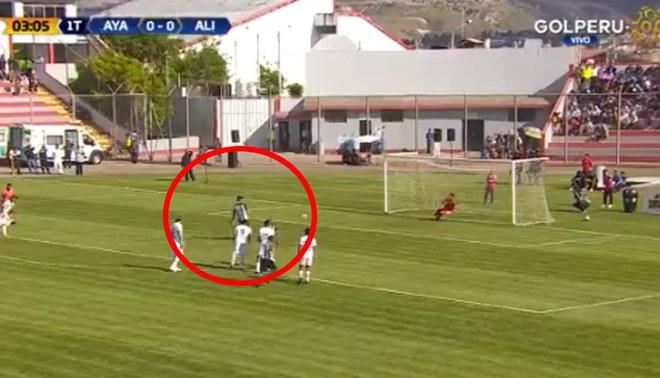 Alianza Lima vs Ayacucho EN VIVO: Mauricio Affonso marca de penal el 1-0 para los íntimos [VIDEO]