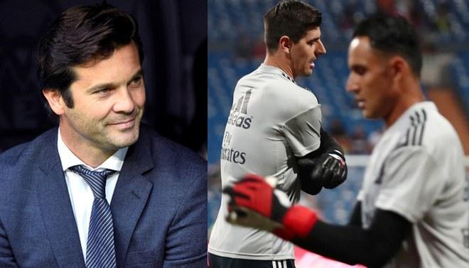 """Solari habló sobre la portería del Real Madrid: """"Keylor Navas es un señor y tiene toda mi admiración y mi respeto"""""""