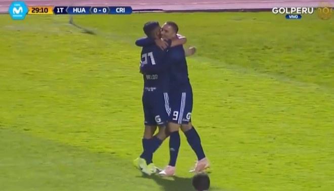 Emanuel Herrera y el gol récord ante Sport Huancayo con el que iguala a Esidio [VIDEO]