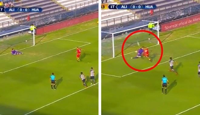Alianza Lima vs Sport Huancayo: Carlos Neumann marca el 1-0 para la visita desde el punto penal [VIDEO]