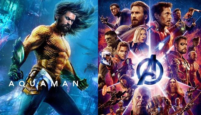 """""""Aquaman"""" rompe récord de """"Infinity War"""" a un mes de su estreno mundial"""