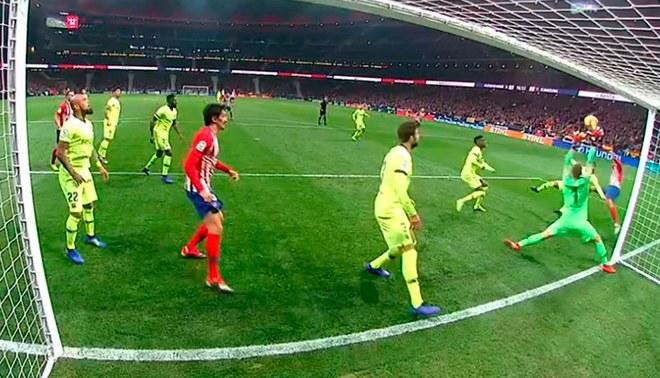 Barcelona vs Atlético Madrid  Diego Costa pone el 1-0 para los ... 9c94843191137