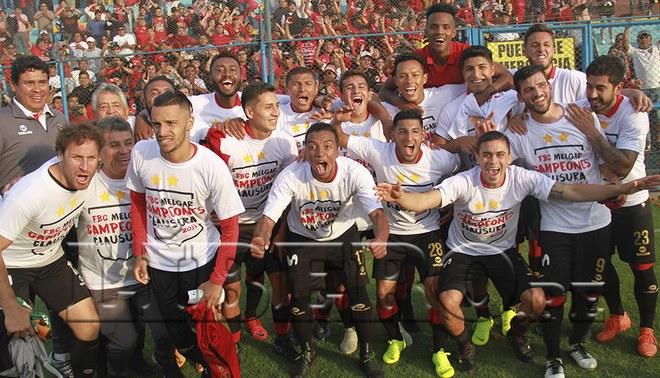 Melgar empató 1-1 con San Martín y se proclamó campeón del Torneo Clausura [RESUMEN Y GOLES]