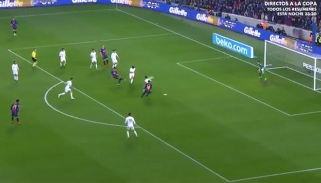 Munir El Haddadi pone el 1-0 tras un pase milimétrico de Rakitic en la Copa del Rey [VIDEO]