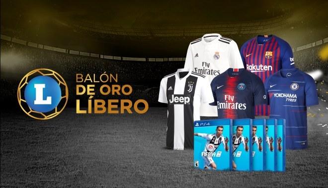 Balón de oro Líbero: Ellos son los ganadores de las camisetas oficiales y FIFA19