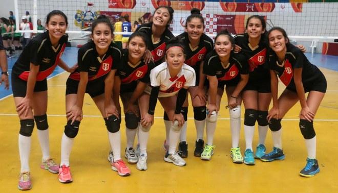 Perú venció a Brasil y pasó a la final de Voley en los Juegos Sudamericanos Escolares Arequipa 2018