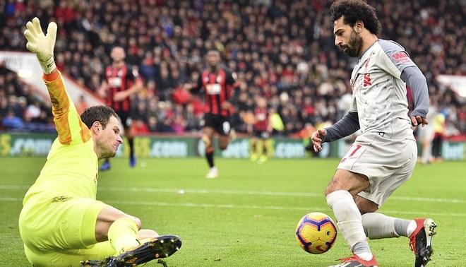 Mohamed Salah está en buen nivel con el Liverpool.