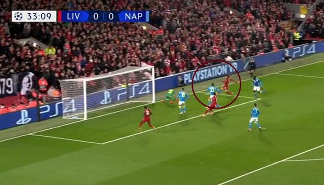 Liverpool vs Napoli: Mohamed Salah anota el 1-0 'Red' en la Champions League con gran jugada [VIDEO]