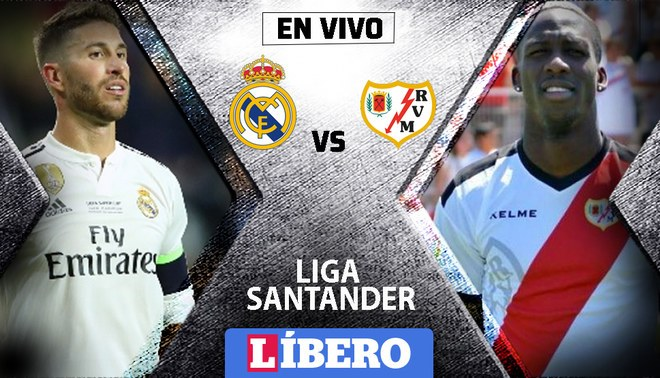 REAL MADRID VS RAYO VALLECANO [LIVE]