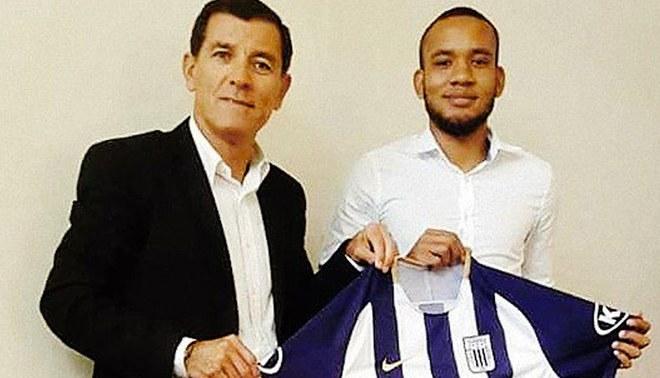 Alianza Lima hizo oficial el fichaje de Aldair Salazar [FOTO]