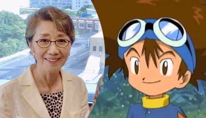 Falleció Toshiko Fujita, la voz de Tai en Digimon Adventure