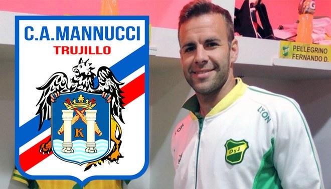 Mannucci se refuerza con defensor argentino Pablo de Miranda