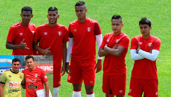 Sub 20 Chile 2019: Selección Peruana Sub-20