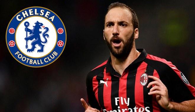AC Milan Fichajes 2019  Chelsea tiene todo arreglado con Gonzalo ... 918f5908c97cf