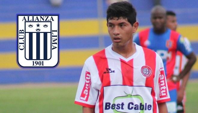 Alianza Lima: Dylan Caro será 'Blanquiazul' tras jugar en la Selección Peruana Sub-20