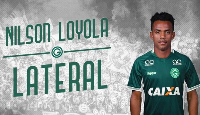 Nilson Loyola hizo su debut con Goiás de Brasil en duelo amistoso