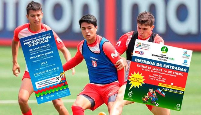 Sub 20 Chile 2019: Selección Peruana Sub-20 │ Chile 2019: Entradas Gratuitas
