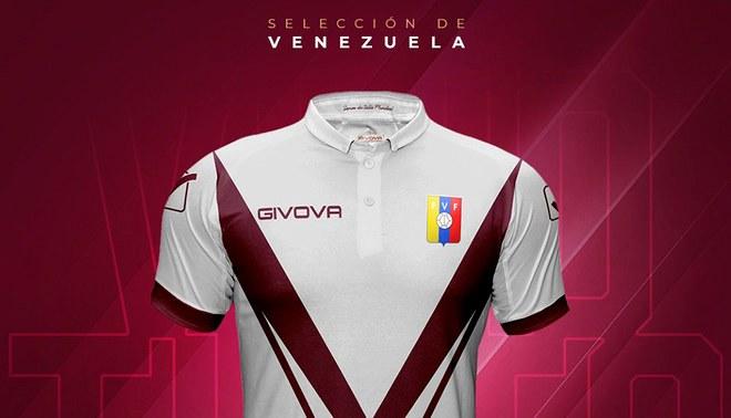 Innovador diseño de la camiseta de la selección de venezolana Sub 20 Fuente    Twitter FVF f57437b3854c8
