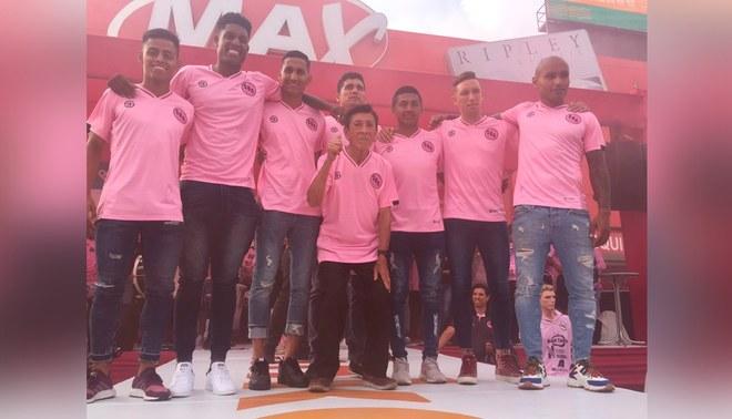 Liga 1: Sport Boys presenta 'la piel rosada para esta temporada [FOTOS Y VIDEO]