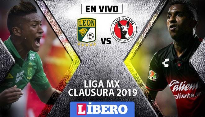 León vs Tijuana EN VIVO: 'Xolos' derrotan 1-0 en la tercera fecha de la Liga MX