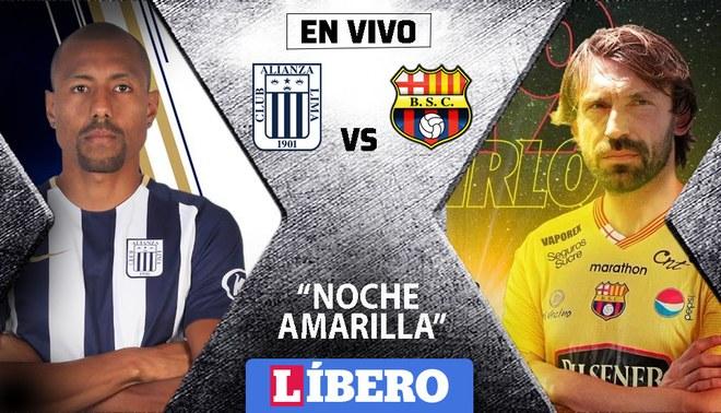 Image Result For Barcelona Vs Alianza Lima Online Noche Amarilla