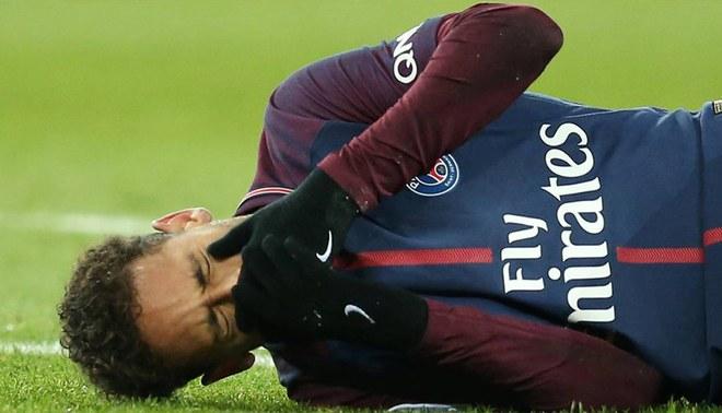 Resultado de imagen para neymar lesion