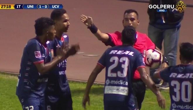 Universitario vs César Vallejo: Gol anulado a Renzo Garcés por fuera de juego [VIDEO]