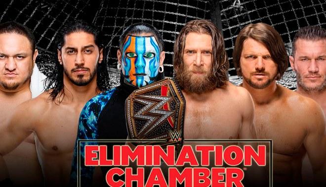 Resultado de imagen para ver WWE Elimination Chamber 2019