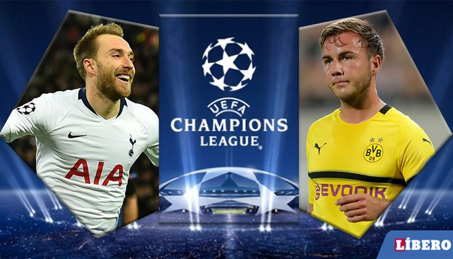 Resultado de imagen para Tottenham vs Borussia Dortmund
