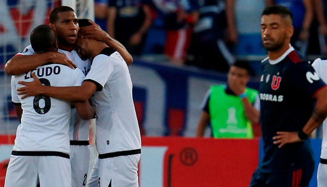 FBC Melgar empató 0-0 con U. de Chile y avanzó a la tercera fase de la Copa Libertadores 2019. Foto: EFE