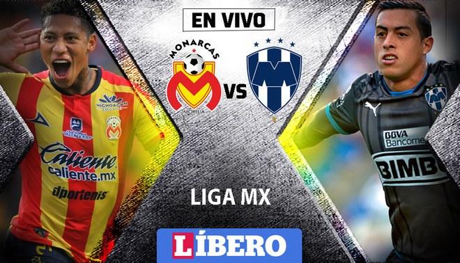 Monterrey vs Morelia EN VIVO ONLINE GRATIS vía TV Azteca  Ver la Liga MX EN 3498fd7fc23c3