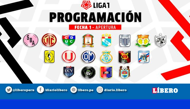 Liga 1 Movistar: Así quedó la tabla de posiciones tras la primera fecha del torneo