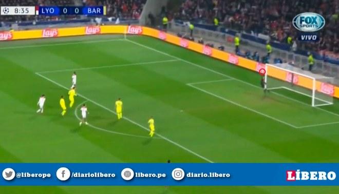 Barcelona Vs Lyon Champions League 2019 Photo: Barcelona Vs Lyon ONLINE: VIDEO Marc Ter Stegen