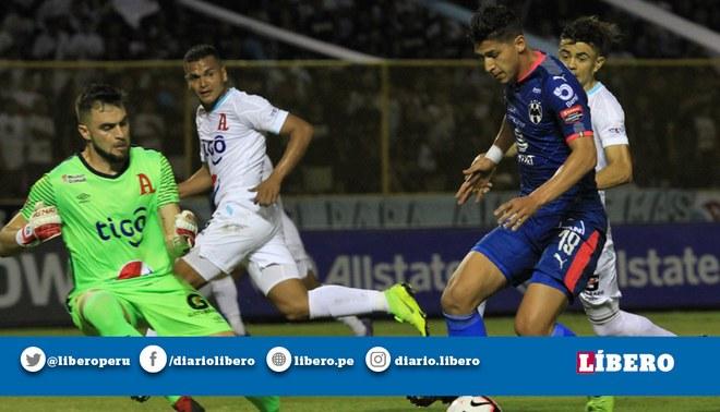 Monterrey empató 0-0 ante Alianza FC por los octavos de final de la  Concachampions ccdac229303c7