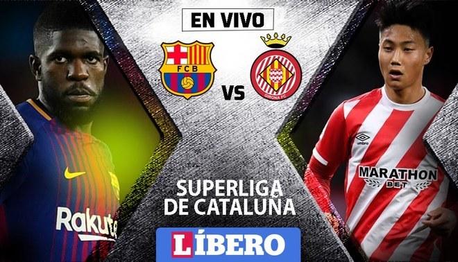 Barcelona Vs Girona En Vivo Sin Messi En Partido Por La Supercopa Cataluna