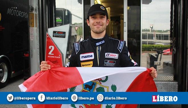 Automovilismo: Rodrigo Pflucker entre los favoritos para ganar el circuito de Sebring en EEUU