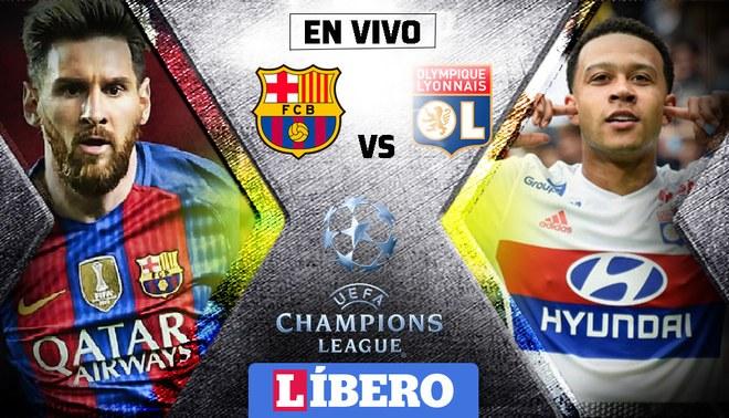 Barcelona Vs Lyon Champions League 2019 Photo: Roja Directa EN VIVO GRATIS