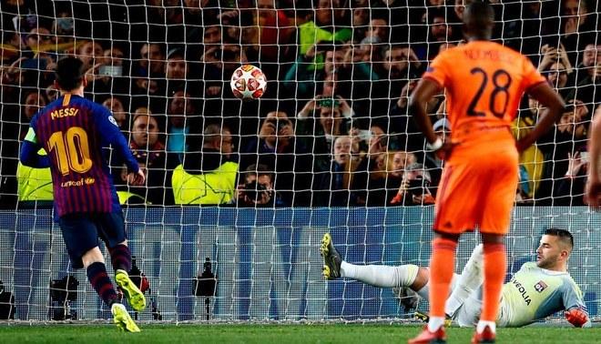 Barcelona Vs Lyon Champions League 2019 Photo: Barcelona, Con Doblete De Messi, Goleó 5-1 Al Lyon Y