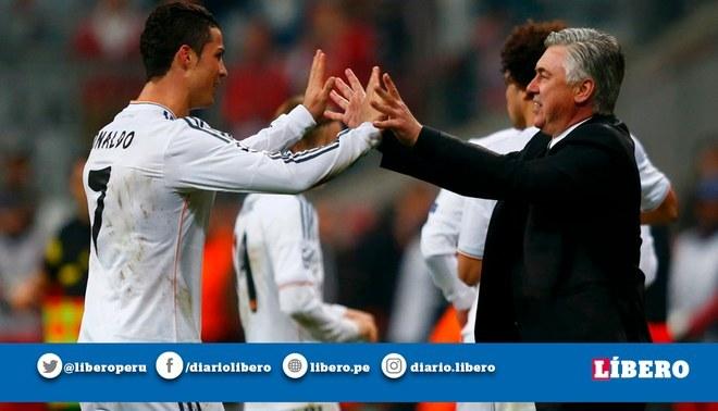 Carlo Ancelotti se deshizo en elogios hacia Cristiano Ronaldo por su actuación en la Champions League.