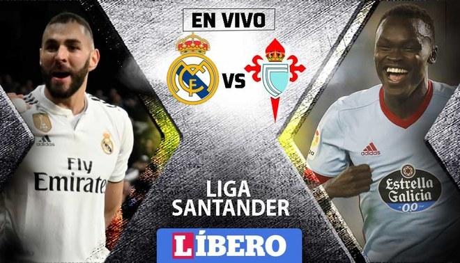 Celta Vigo Real Madrid En Vivo Facebook