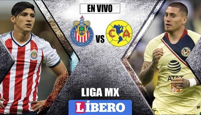 América vs Chivas por la Liga MX Clausura 2019. Foto  Composición 0e6a07e8d5e9e
